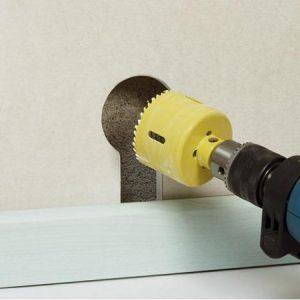 Comment se servir d'une scie cloche?